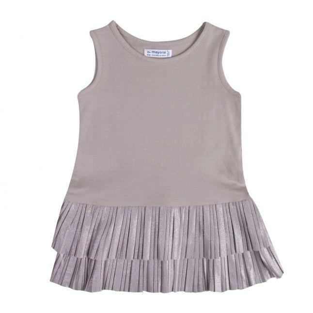 Infant Girls Tricot Bear Dress