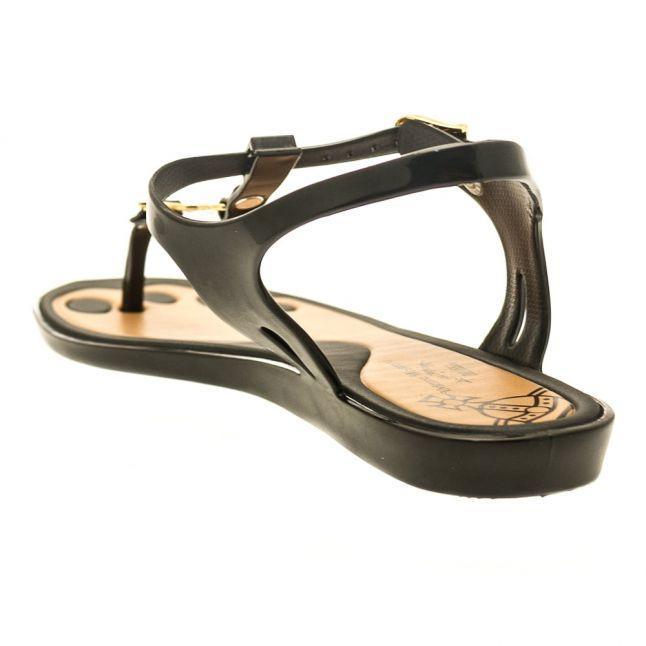 Vivienne Westwood Womens Black Solar Orb Sandals
