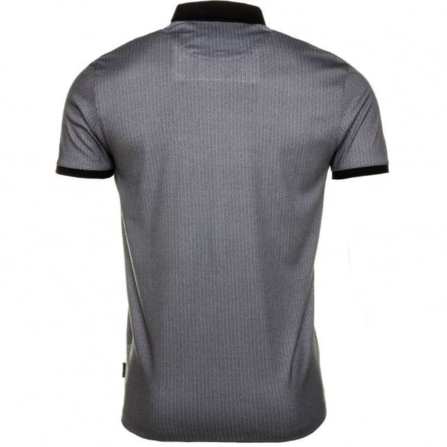 Mens Navy Rokit Printed S/s Polo Shirt