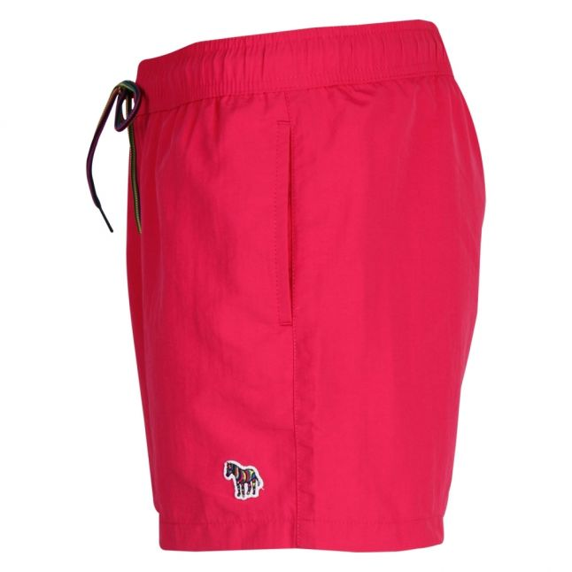 Mens Fuschia Classic Zebra Swim Shorts