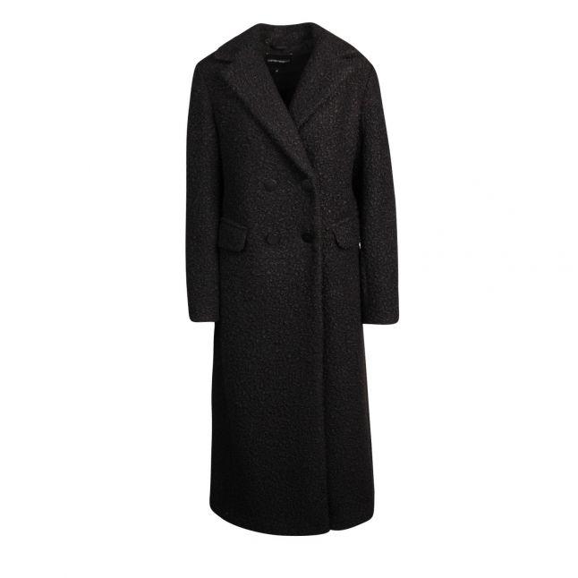 Womens Black Tailored Coat