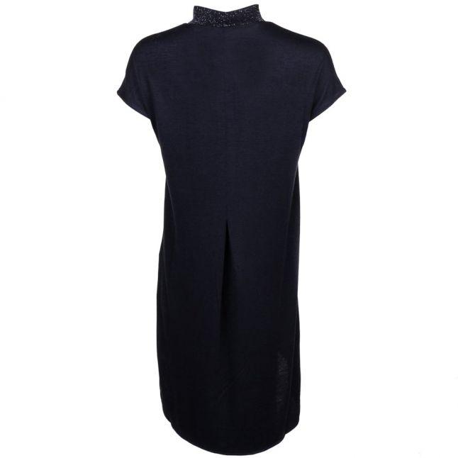 Womens Black Vinat S/s Tunic Dress