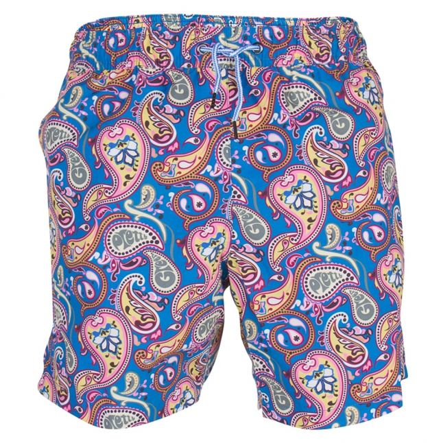 Mens Vintage Paisley Swim Shorts