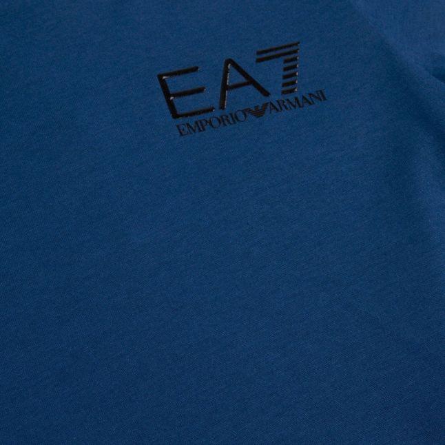 Boys Blue Basic Small Logo S/s T Shirt
