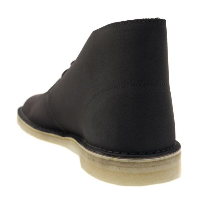 Mens Charcoal Suede Desert Boots