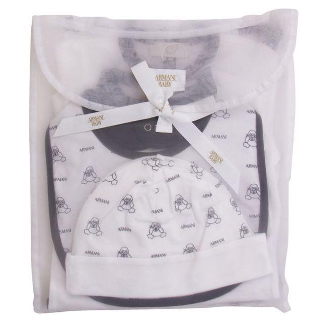 Baby White & Blue 5 Piece Gift Set