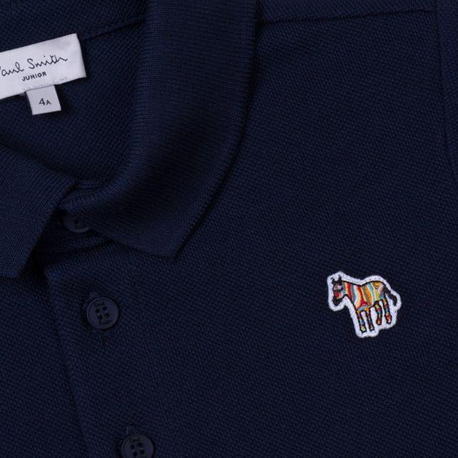 Boys Dark Navy Luciano S/s Polo Shirt