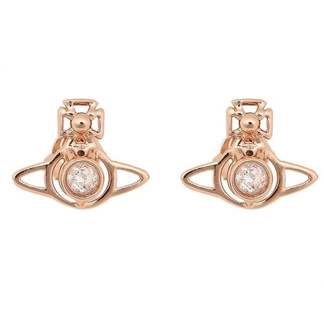 Vivienne Westwood Womens Rose Gold Nora Earrings Hurleys