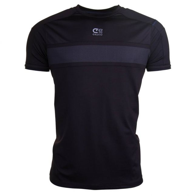 Mens Black Vanen Tech S/s Tee Shirt