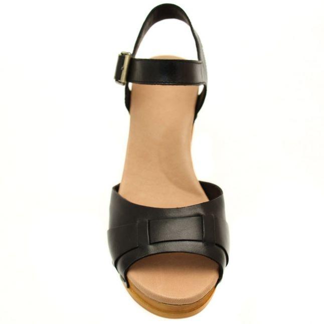 Womens Black Janie Sandals
