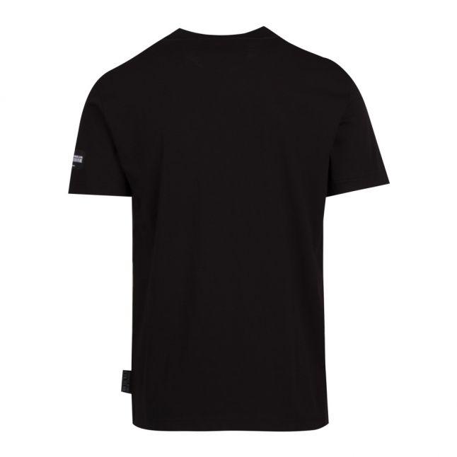 Mens Black Logomania Slim Fit S/s T Shirt