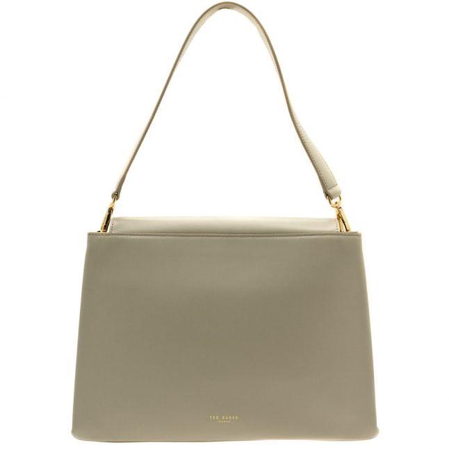 Womens Light Grey Fionah Shoulder Bag