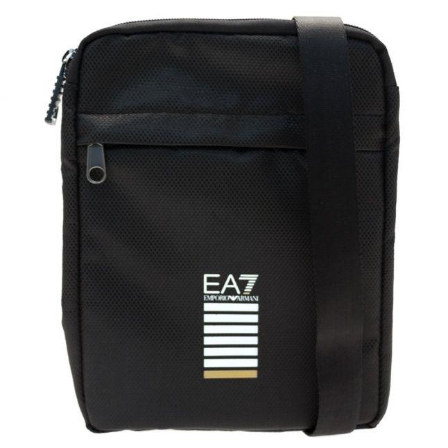 Mens Black Training Core Identity Pouch Bag