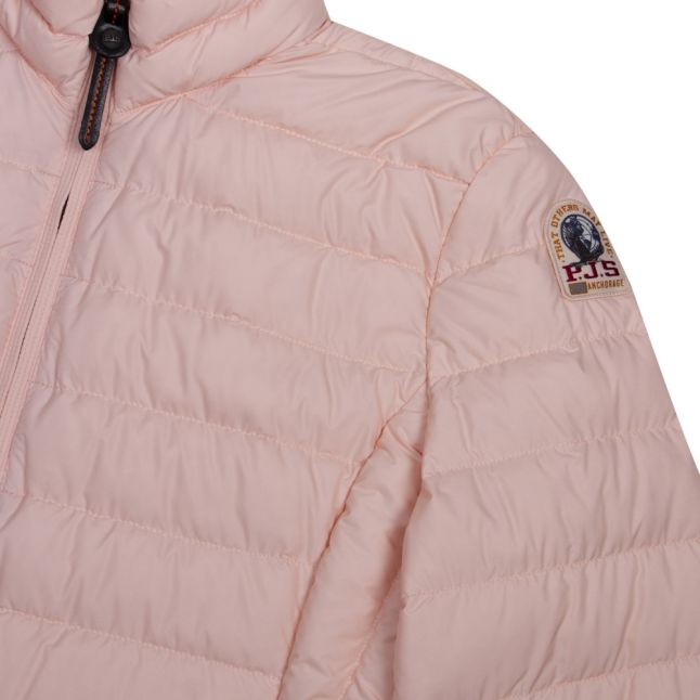Womens Salmon Pink Geena Padded Jacket
