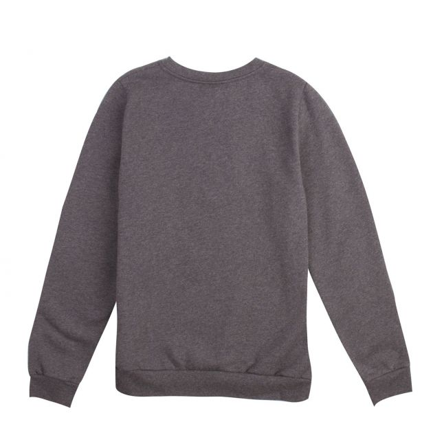 Kids Grey Marl Charles Logo Sweat Top