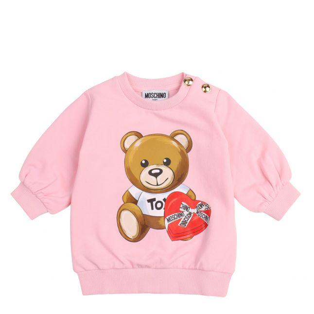 Moschino Baby Sugar Rose Choc Box Toy Dress