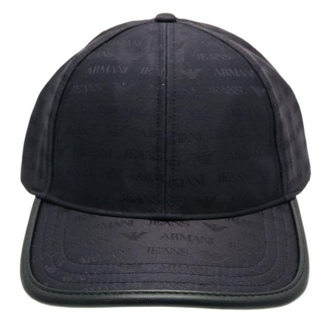 Mens Blue Logo Cap