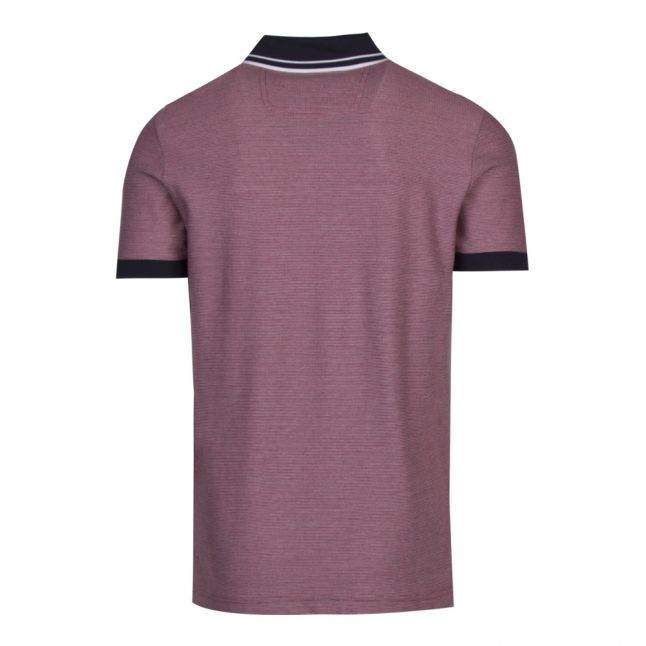 Athleisure Mens Red Paddy 2 Regular Fit S/s Polo Shirt