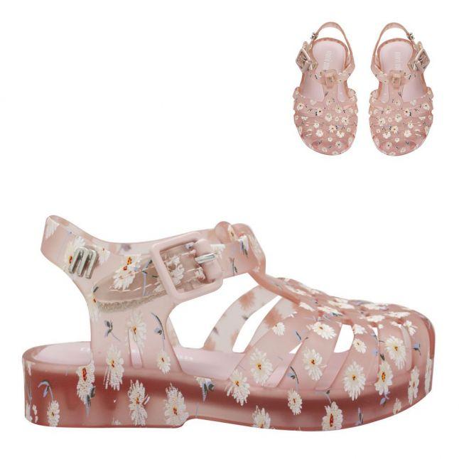Girls Pink Daisy Mini Possession Sandals (4-9)
