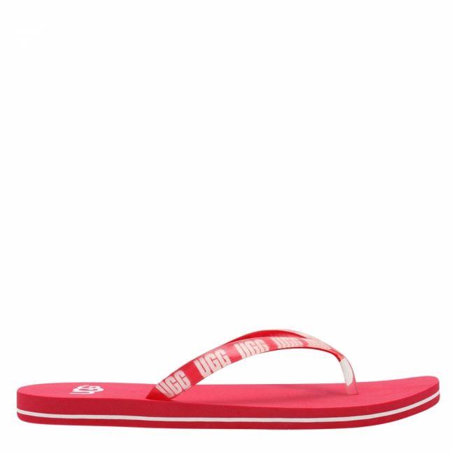 Womens Sweet Sangria Simi Graphic Flip Flops