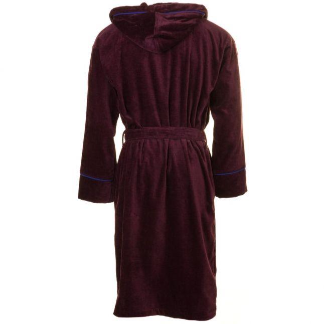 Mens Oxblood Padrec Dressing Gown