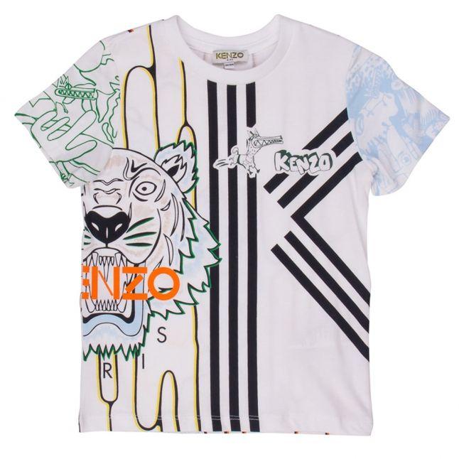 Boys White Benji S/s Tee Shirt