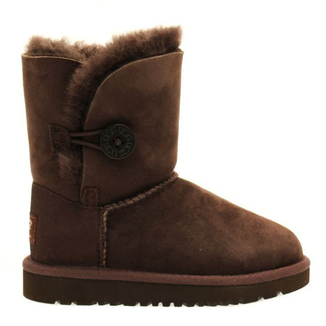 Chocolate Bailey Button Boots (6-11)