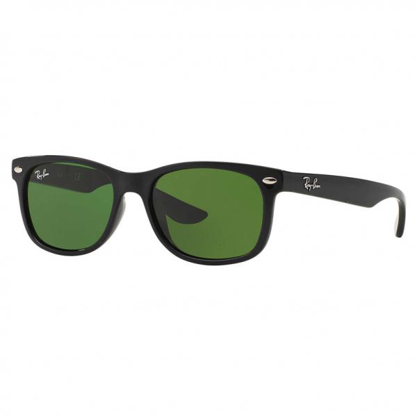 Junior Shiny Black RJ9052S New Wayfarer Sunglasses