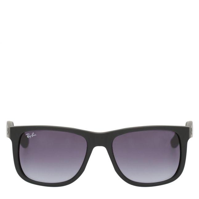 Black RB4165 Justin Rubber Sunglasses