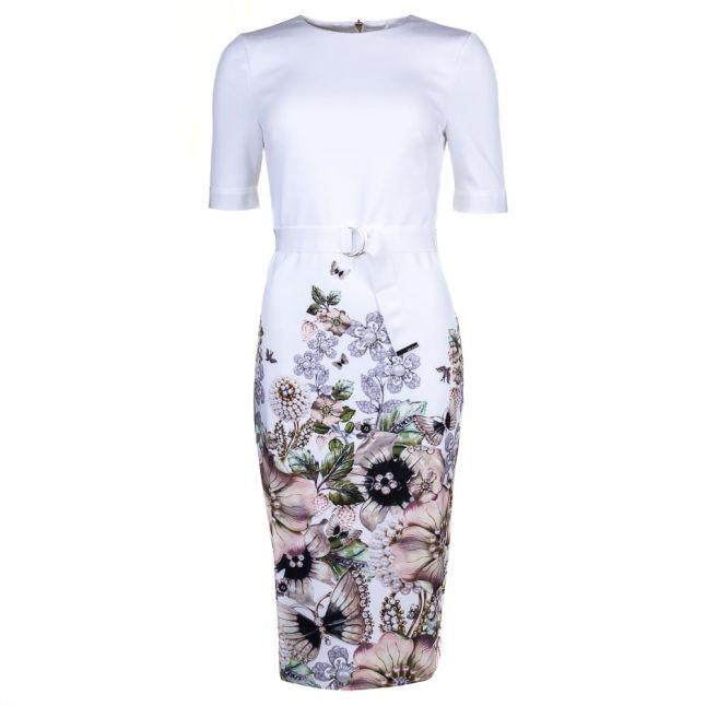Womens Ivory Layli Gem Gardens Dress