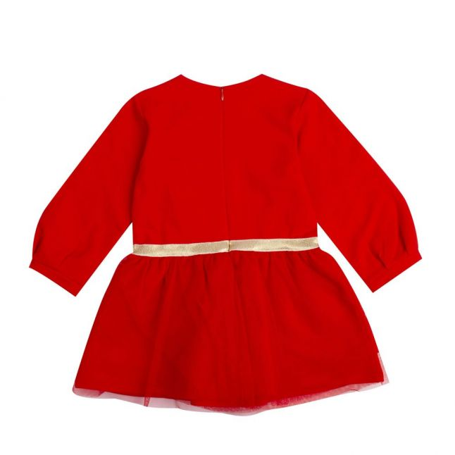 Baby Poppy Red Petticoat Dress