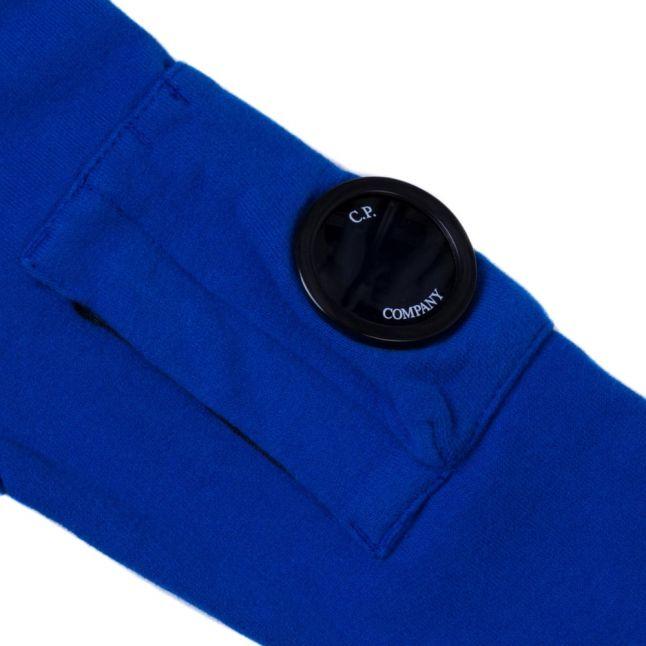 Boys Blue Portal Sleeve Crew Sweat Top