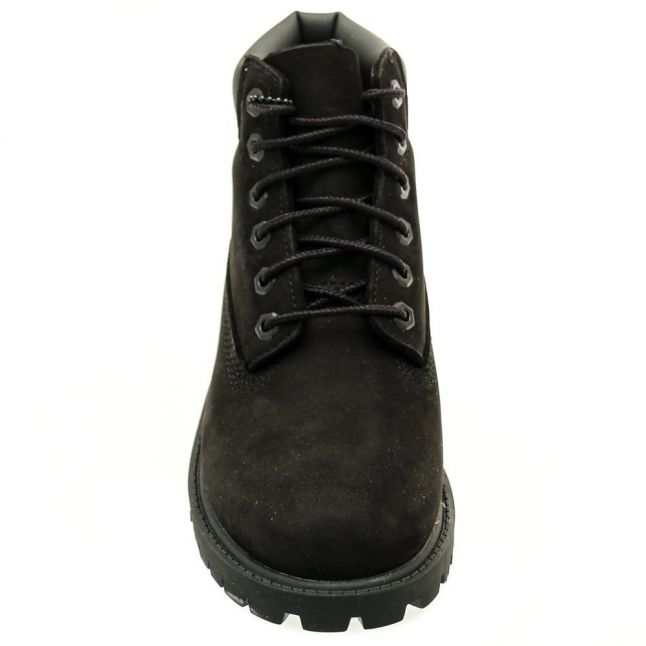 Youth Black 6 Inch Premium Boots (12-2)