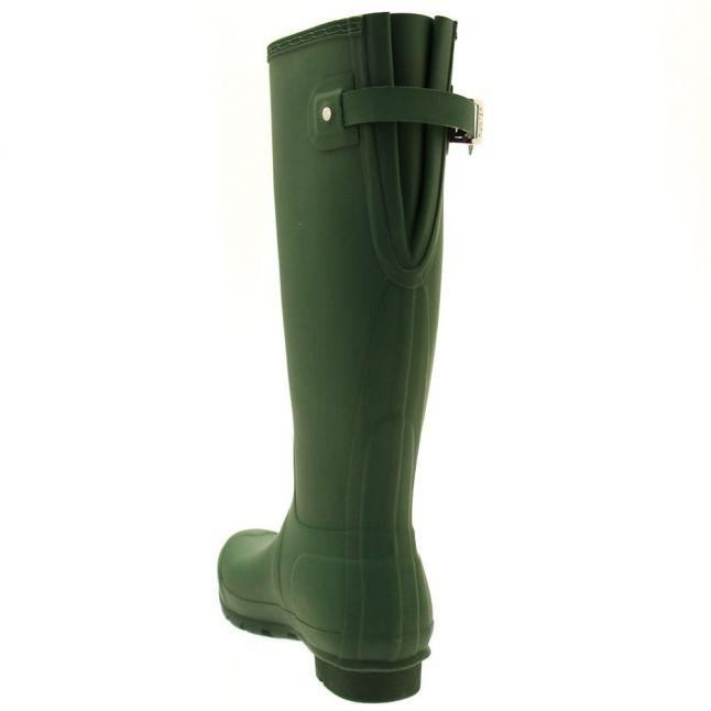 Womens Green Original Back Adjustable Tall Wellington Boots