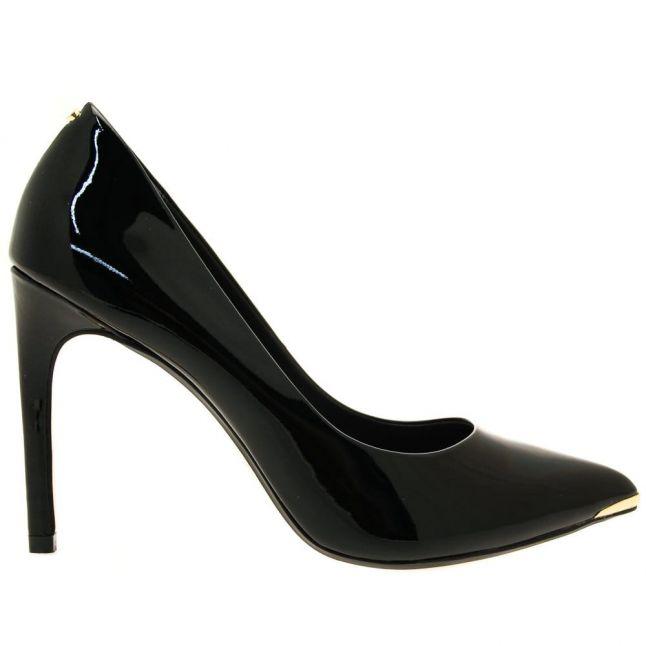 Womens Black Neevo 4 Patent Court Shoes