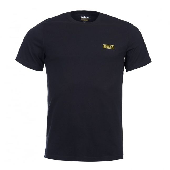 Mens Black Small Logo S/s T Shirt