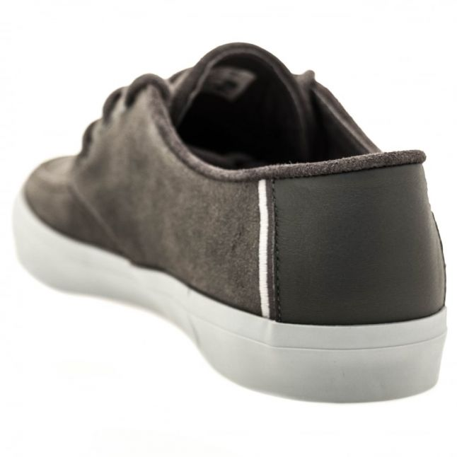 Mens Dark Grey Sevrin Boat Shoes
