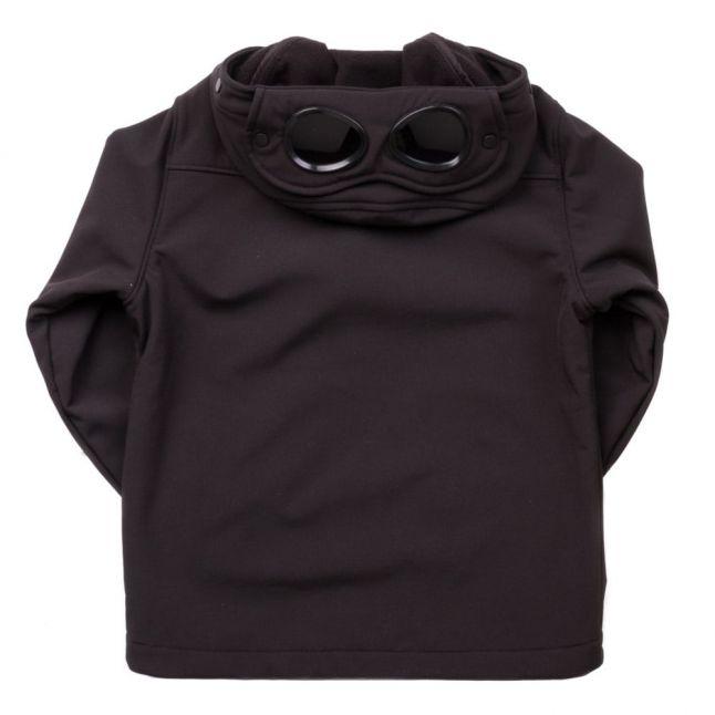 Boys Black Goggle Hood Jacket