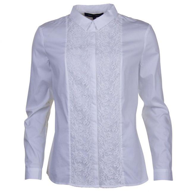Womens Summer White Hennessy L/s Shirt