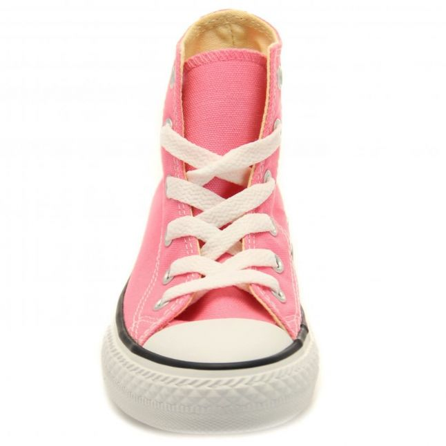 Youth Pink Chuck Taylor All Star Hi (10-2)