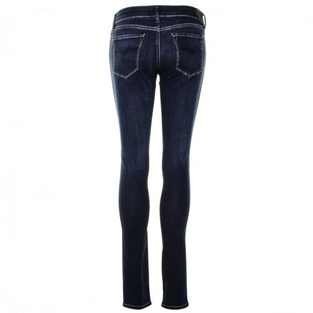 Womens Blue Wash Luz Regular Skinny Fit Jeans