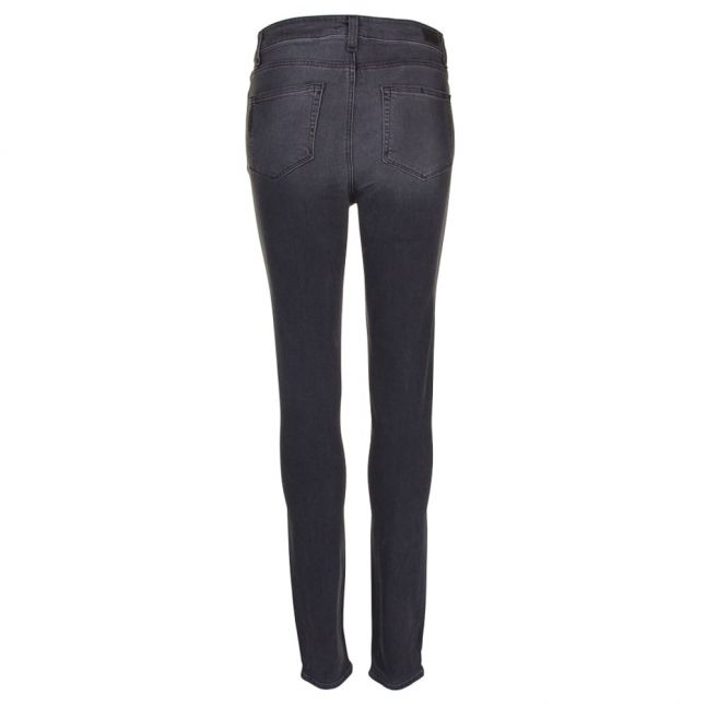 Womens Smoke Grey Hoxton Ultra Skinny Fit Jeans