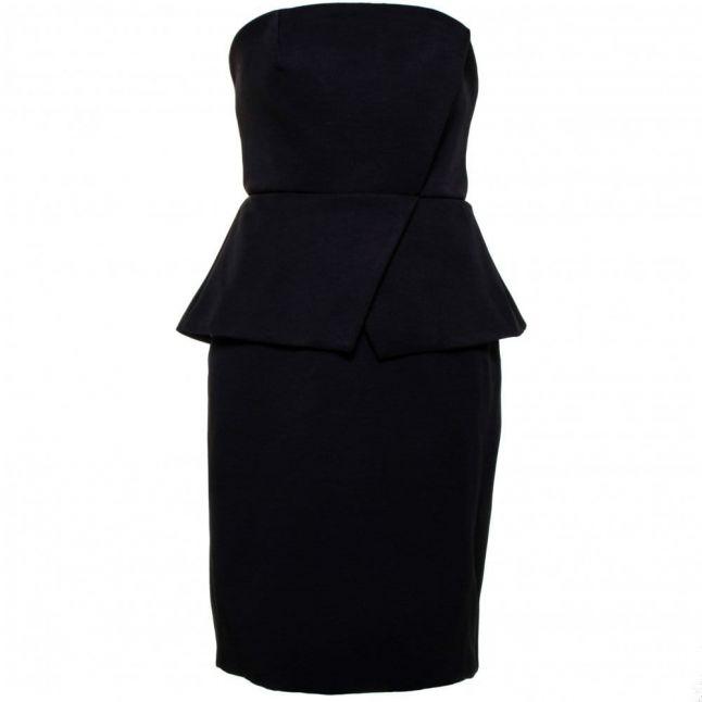 Womens Black Wildflower Dress