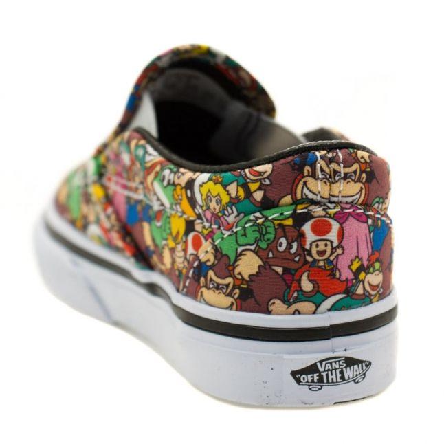Toddler Super Mario Bros Classic Slip Nintendo Trainers (4-9)