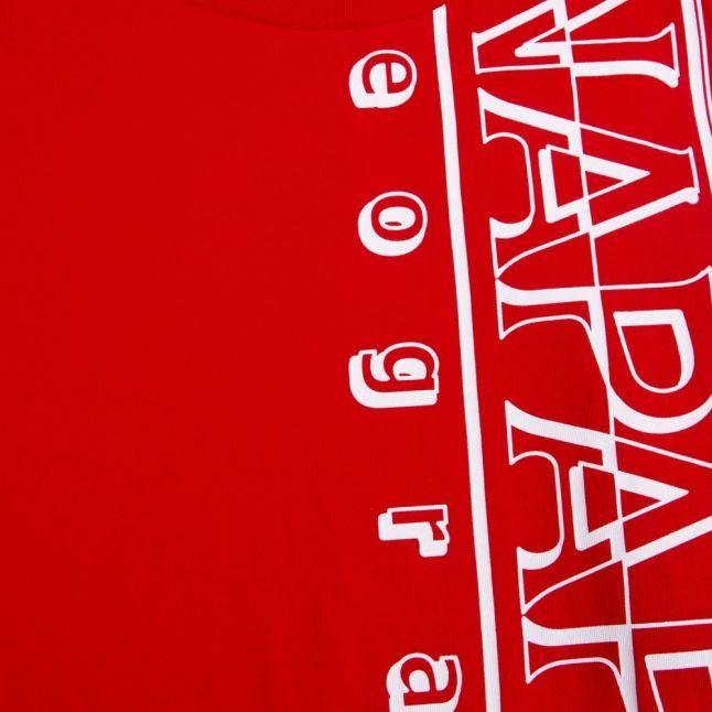 Boys Bright Red Seri S/s T Shirt