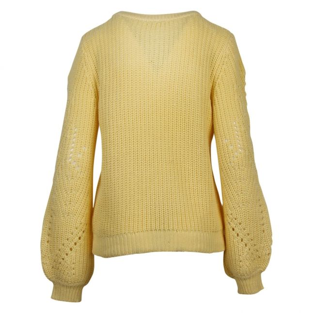 Womens Mellow Yellow Viwishi Knitted Jumper