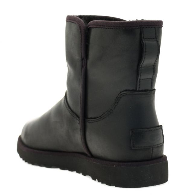 Womens Black Cory Leather Boots