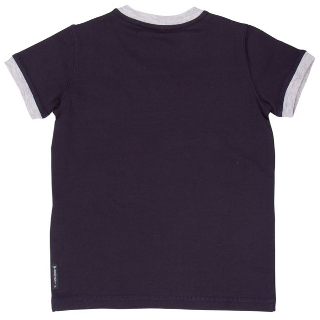 Boys Blue Logo S/s Tee Shirt