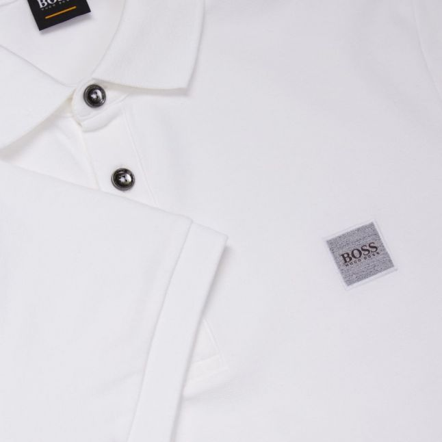 Casual Mens White Passenger S/s Polo Shirt