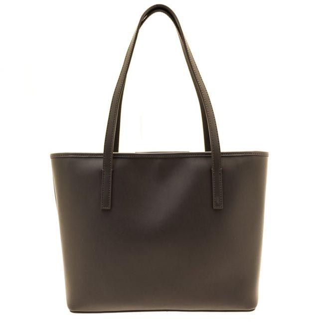 Womens Grey Amina Metallic Small Shopper